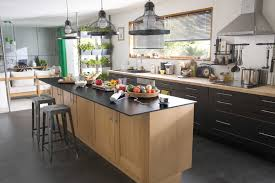 cuisines avec ilot cuisine moderne avec ilot unique modele de cuisine avec ilot central