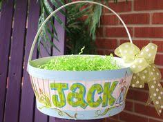 painted easter baskets painted easter buckets i declare easter