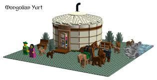 lego ideas mongolian yurt