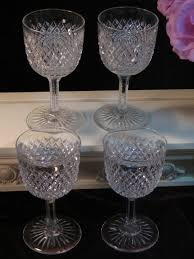 Fine Crystal Items Similar To Vintage Antique Cut Glass Crystal Diamond Pattern