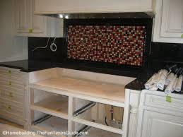 diy tile kitchen backsplash installing backsplash tile glamorous diy kitchen backsplash tile