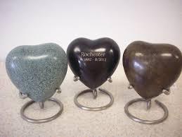 heart urn heart keepsake patina dog cat urns ceramic