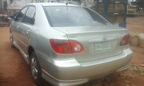toyota corolla s 2005 for sale toyota corolla sport 2005 for sale n900k autos nigeria