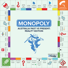 monopoly map what would happen if monopoly really reflected 2016 australia