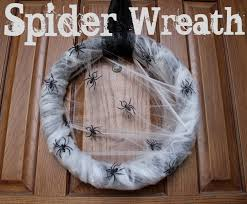 things to remember spider wreath by lowes