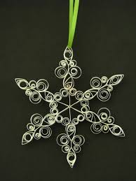 157 best quilled snowflakes images on quilling