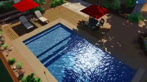 Backyard Leisure Pools by Fiberclassy Pools 3d Pool Design The 30 Youtube