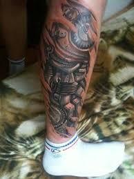 realistic 3d arrow tattoo on leg tattooshunter com