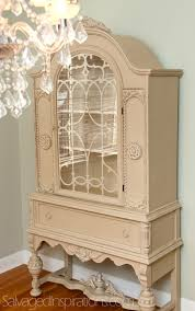 Vintage Cabinet Revamp by Pricing Your Painted Furniture Salvaged Inspirations