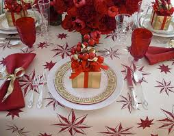 Christmas Table Decorations 35 Christmas Table Decorations U0026 Place Settings Holiday Tablescapes
