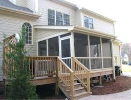 building enclosed deck stairs image of aluminum enclosed porch