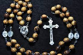 olive wood rosary holy land olive wood rosary necklace from the holy land