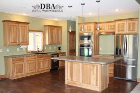 custom built hickory kitchen cabinets dba custom woodworking
