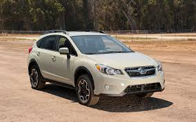 subaru crosstrek interior leather 2013 motor trend sport utility of the year contender subaru xv