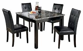 Dining Room Table Contemporary Furniture Signature Design Maysville Dining