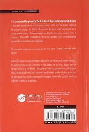 structural engineer u0027s pocket book 2nd edition british standards