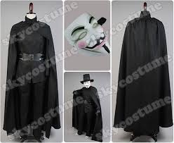 v for vendetta costume v for vendetta fawkes costume skycostume