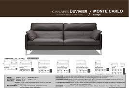 hauteur assise canapé faites vous plaisir avec le monaco ou le monte carlo