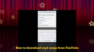 download mp3 from youtube php how to download mp3 songs from youtube youtube