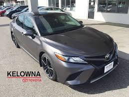 lexus service kelowna new 2018 toyota camry xse 4 door car in kelowna 8ca2408 kelowna
