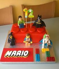 lego superhero birthday cake 乐高蛋糕 fødselsdag glad og kager