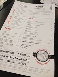 kitchen on san marco quickly becoming one of the top restaurants