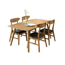 rondo 150cm extending table u0026 4 chairs set dining table u0026 chair