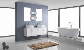 59 Double Sink Bathroom Vanity by Virtu Usa Enya Double Sink 59