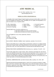 Examples Of Skill Sets For Resume by Resume Examples Medical Office Resume Templates Assistant Free