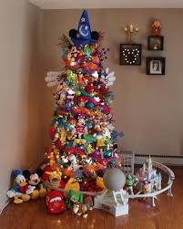 themed christmas disney christmas tree popsugar