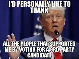 Voting Meme - i d personally like to thank all the people that supported me by