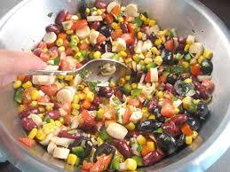 recette cuisine mexicaine salade mexicaine recette de cuisine avec photos meilleurduchef com