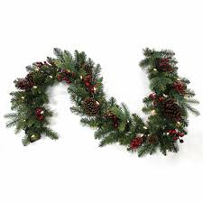 forest 6 ft led artificial garland