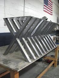 brushed nickel dining table x metal table legs brushed nickel finish 2 x 2 steel tube