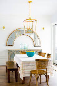 dining room modern country with a little brass sparkle good mix