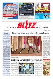 Baden Blitz Wismarer Blitz Vom 30 11 2014 By Blitzverlag Issuu