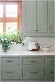 Colors For Kitchens With Light Cabinets Green Painted Kitchen Cabinetsmegjturner Megjturner