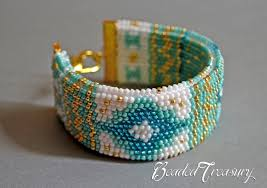 bracelet crochet pattern images Mediterranean breeze bead crochet bracelet pattern bead jpg