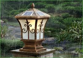 low voltage led column lights lighting large image for outdoor led l post lighting retrofit