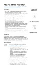 Biology Sample Resume by Research Scientist Resume Samples Visualcv Resume Samples Database