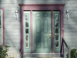 modern front doors with side panels front doors with side panels