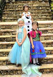 Elsa Halloween Costume Frozen 3 Frozen Elsa Anna U0026 Olaf Dress Inspired Blissycouture
