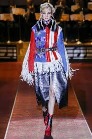 Model American Flag How Fashion Designers Interpret American Flags On The Runway Vogue