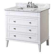 kitchen bath collection eleanor 36 inch vanity carrara white u2013 kitchenbathcollection