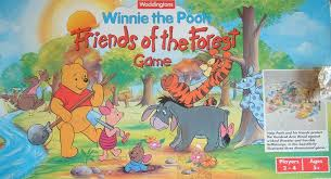 winnie pooh friends forest game board game