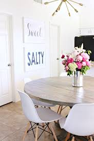 how to stain a wood table a dining room update classy clutter