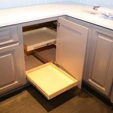 Blind Kitchen Cabinet Kitchen Cabinets Solution For Blind Corner Cabinet Diy