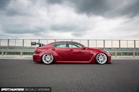 bagged lexus is250 lexon reinvents the lexus is f speedhunters