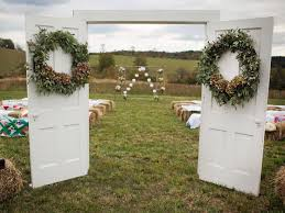 wedding arches building plans best 25 rustic wedding arbors ideas on outdoor
