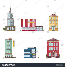 modern buildings different architectural styles architecture stock